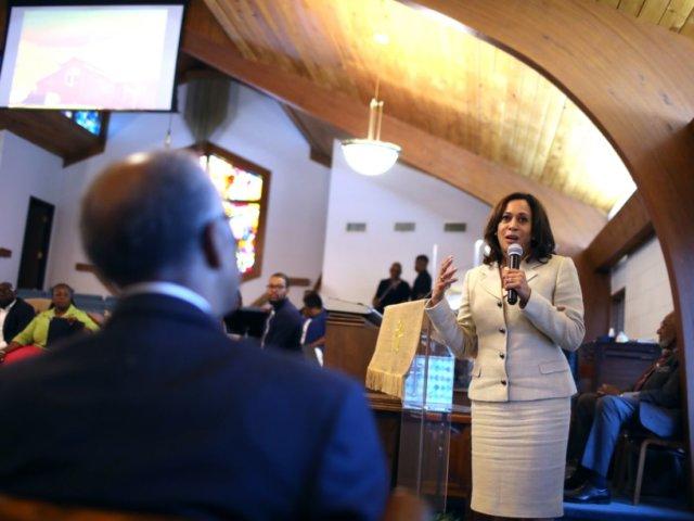 Kamala Harris à l'église: «C'est là que nous allons quand le temps teste notre foi»