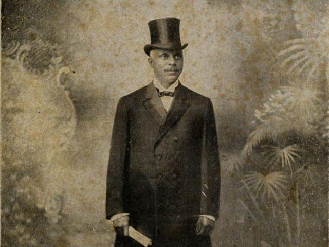 Mois de l'histoire des Noirs : Le fils d'un esclave qui s'est présenté à la présidence, George Edwin Taylor.