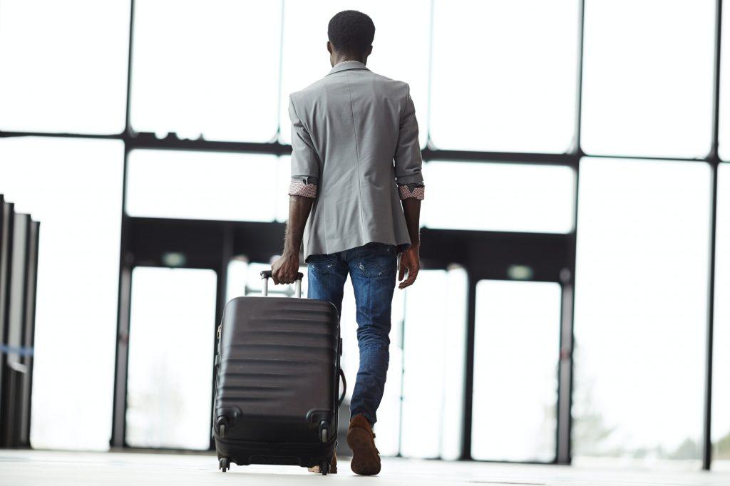 Leaving airport